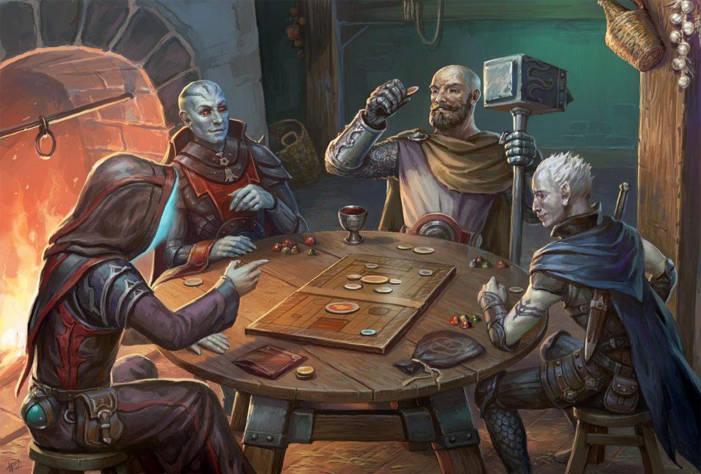 dica de mestre - como conhecer os personagens jogadores